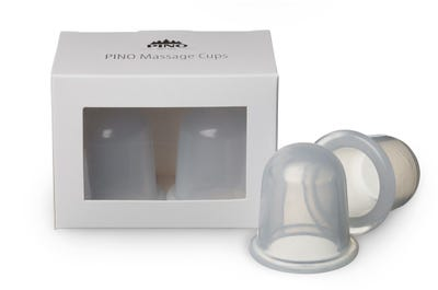 PINO Massage Cups mittel, 2 Stück