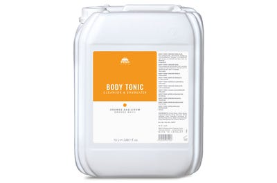 Body Tonic Einreibung Orange Basilikum 10 Liter