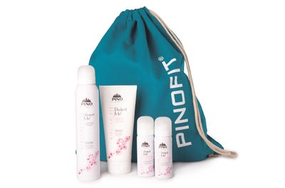 Das PINOFIT Set Stay@home and stay beautiful